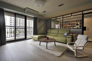 80平米简约风格温馨室内设计装修效果图