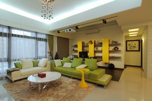 简约风格温馨82平米两室两厅室内设计装修效果图