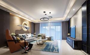 现代风格时尚客厅设计装修效果图