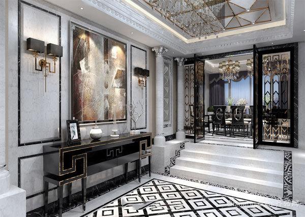 奢华精美欧式风格别墅室内设计装修效果图赏析
