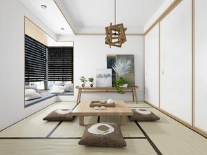 70平米日式风格简约室内设计装修效果图