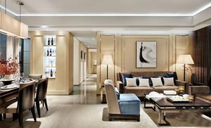 100平米新中式风格精致室内设计装修效果图