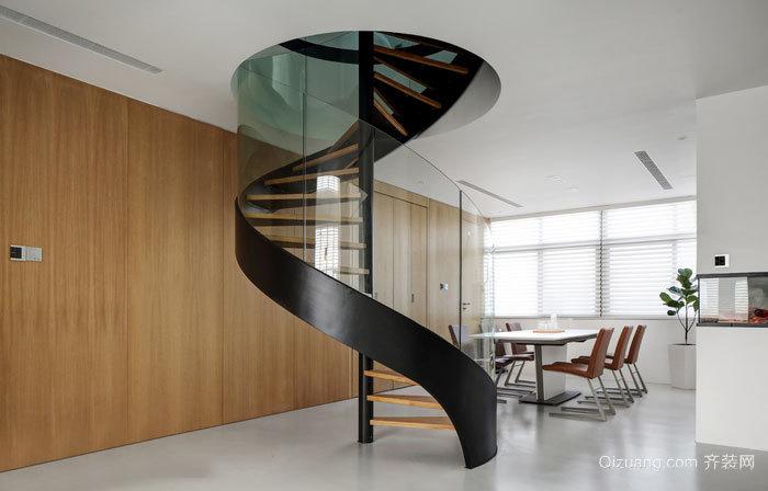 现代风格室内选择楼梯设计装修图