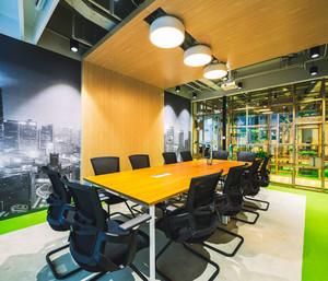 现代风格时尚小型会议室装修效果图