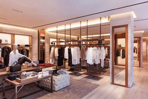 简约风格温馨时尚服装店设计装修图