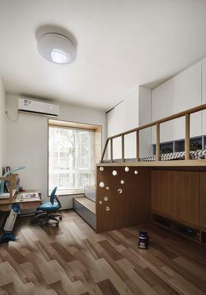 宜家风格简单宽敞儿童房设计装修图