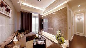 简欧风格123平米三室两厅装修效果图