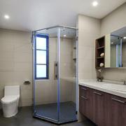 6平米现代风格卫生间淋浴房装修效果图