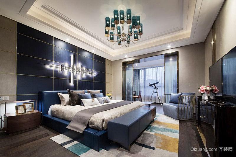 精美新古典主义风格卧室设计效果图
