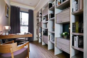 93平米现代风格时尚三室两厅室内装修效果图