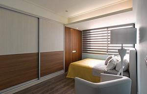 现代风格原宿风精致两室两厅室内装修效果图