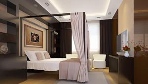 新中式风格精美一居室室内装修效果图
