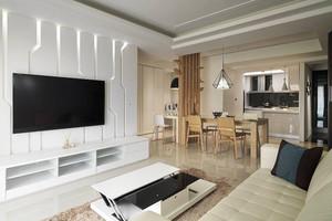 宜家风格简约70平米室内设计装修效果图