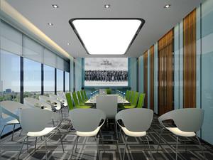 简约风格精美会议室设计装修图