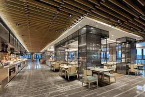 现代风格精致酒店餐厅设计装修效果图