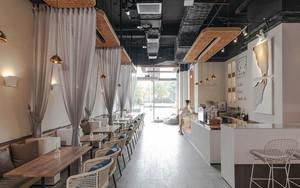 简约风格休闲舒适咖啡厅设计装修效果图