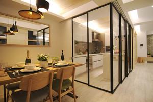 北欧风格简单温馨76平米两室两厅室内装修效果图