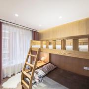 宜家风格双层床儿童房设计装修效果图