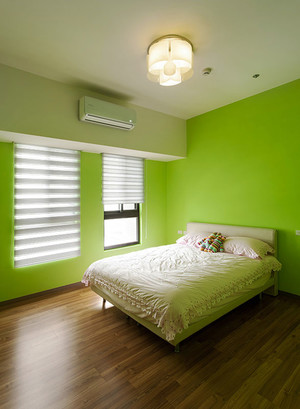 清新舒适简欧风格两室两厅室内设计装修图