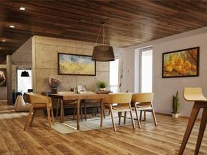 126平米简约风格复式楼室内设计装修效果图
