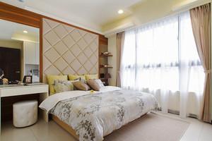 温馨现代风格81平米两室两厅室内装修效果图