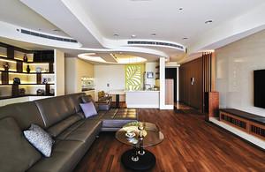 原木色日式风格简约两室两厅室内设计装修图