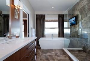 8平米精致现代风格卫生间装修实景图