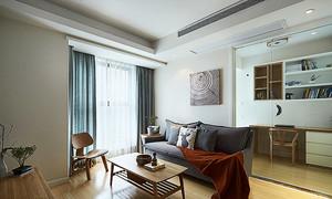 91平米宜家风格温馨三室两室室内装修效果图