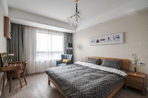 20平米宜家风格简约卧室设计装修效果图