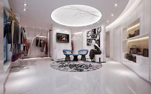 65平米欧式风格服装店装修效果图
