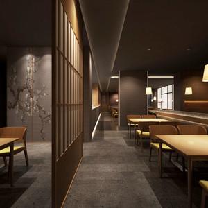 古朴中式风格餐厅装修效果图