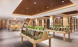 100平米现代风格书店设计装修图
