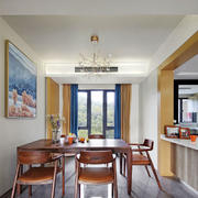 简单休闲宜家风格餐厅设计装修效果图