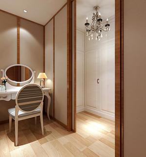 简欧风格温馨124平米三室两厅装修效果图