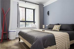 16平米简约风格卧室设计装修效果图