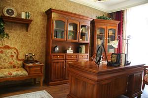 美式田园风格精致复式楼室内设计装修效果图