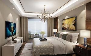 现代风格时尚精美80平米室内装修效果图