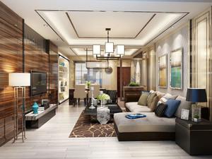 新古典风格素雅精致客厅设计装修效果图