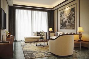 温馨雅致新中式风格90平米室内设计装修图