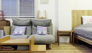 16平米日式风格单身公寓装修效果图
