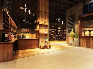 宜家风格休闲舒适咖啡厅设计装修效果图