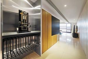 后现代工业风100平米室内设计装修效果图
