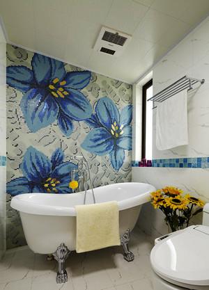 混搭风格时尚精美三室两厅室内装修效果图