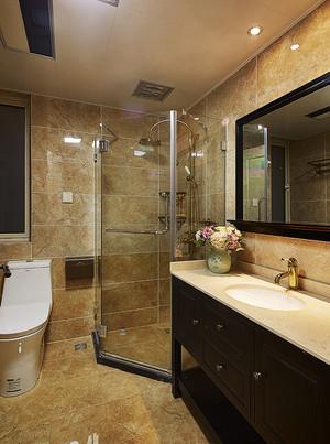 现代美式风格两室两厅室内设计装修效果图