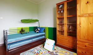 现代美式风格温馨复式楼室内设计装修效果图
