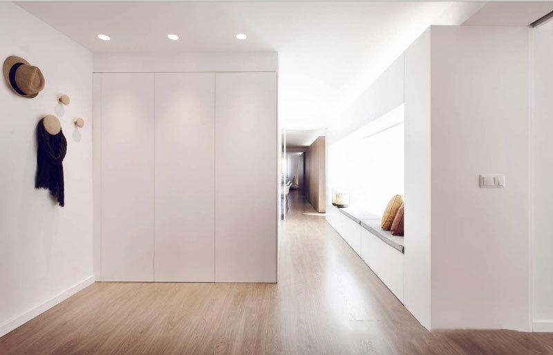 简约风格白色温馨飘窗设计装修效果图