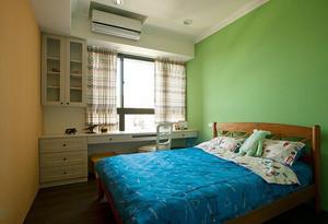 田园风格温馨76平米两室两厅室内装修效果图