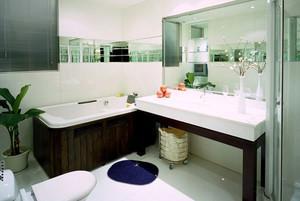 简约风格精致卫生间设计装修效果图大全