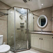 8平米欧式风格卫生间设计装修效果图