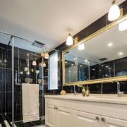 8平米现代风格时尚大气卫生间装修效果图